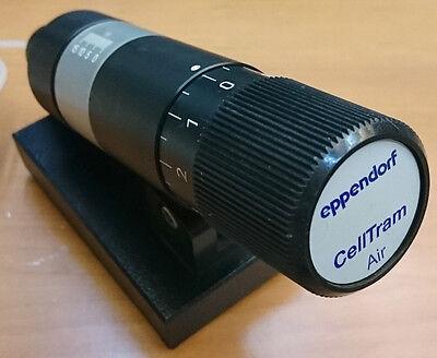 eppendorf CellTram Air 5176 Manual Microinjector
