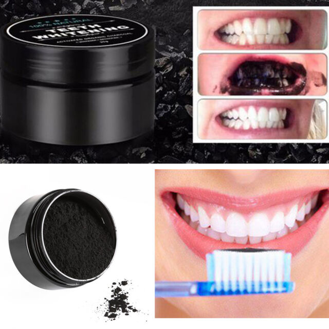 100 Natural Activated Charcoal Whitening Tooth Teeth Powder Toothpaste Uk For Sale Online Ebay