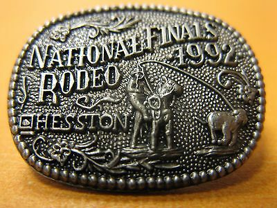 1992 Hesston Hat Pin National Finals Rodeo NEW FREE SHIPPING