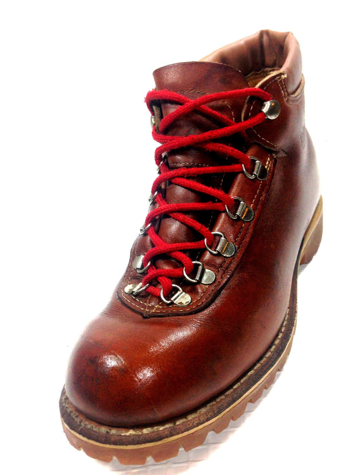 Matterhorn Vintage Trail Hiking Brown Boots Uomo Size 7.5 USA.