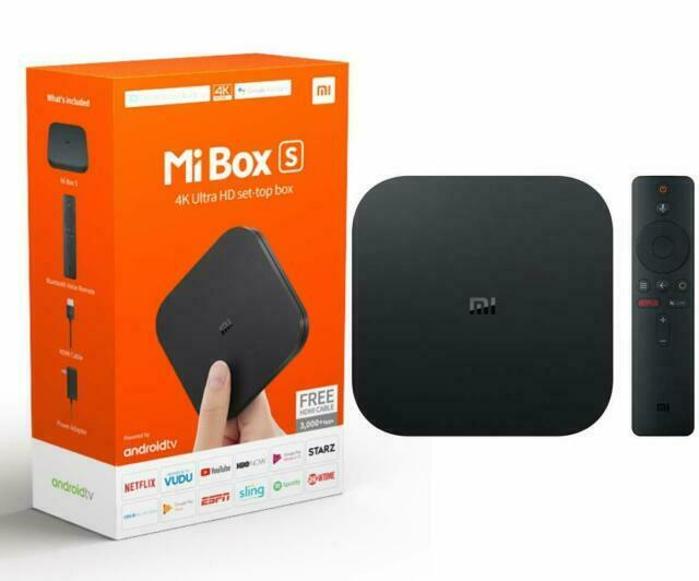 Xiaomi MDZ-22-AB Mi Box S 4K Android TV Box - Black