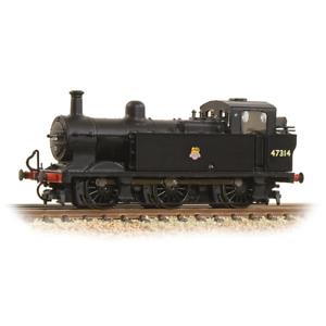 Graham-Farish-372-211A-N-Gauge-BR-Black-Class-3F-Jinty-47314