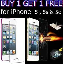 TEMPERED GLASS SCREEN PROTECTOR FOR APPLE IPHONE 5 5S 5C