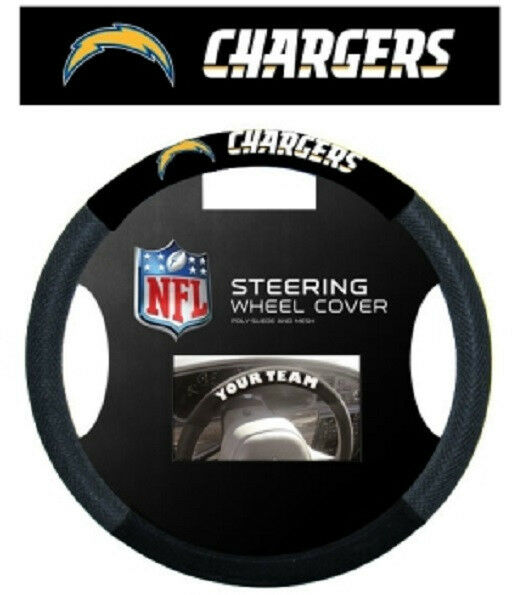 San Diego Chargers Mesh Steering Wheel Cover [NEW] SD NFL Car Auto CDG