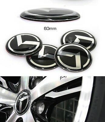 DND K Logo Wheel Center Hub Cap 4EA For KIA SPORTAGE 2011-2016