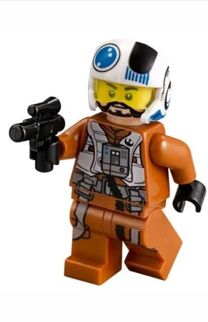 LEGO Star Wars Resistance X-Wing Pilot Minifigure sw705 ...