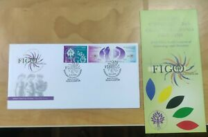 MALAYSIA 2006 FIGO World Congress Gynecology Obstetrics 3v stamps FDC brochure