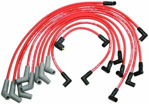 Ford Racing 9mm RED Ignition Wire Set 5.8L 5.0L 351W 302 New Spark Plug Wires