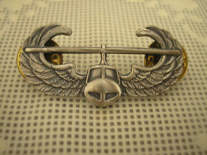 REPLICA-AIR-ASSAULT-WINGS-SILVER-OXIDE-FINISH-SLIGHTLY-SMALLER-THAN-REG-SIZE