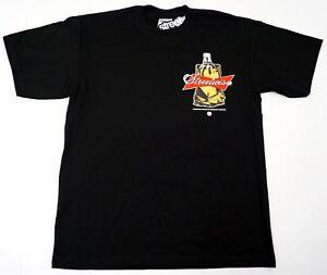 STREETWISE-40-BAG-T-shirt-Urban-Streetwear-Tee-Men-L-4XL-Black-New