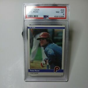 Pete-Rose-1984-Fleer-PSA-NM-MT-Graded-8-Card-Philadelphia-Phillies-46