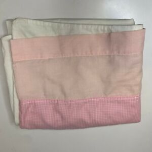 vintage-pillowcase-color-pink-white-standard-size-checkered-print