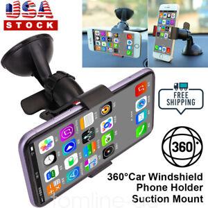 Car Phone Holder Windshield Suction Mount Holder Universal Phone Samsung GPS US