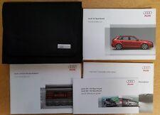 audi a3 sportback owners manual handbook wallet 2615618pa20 ebay rh ebay co uk