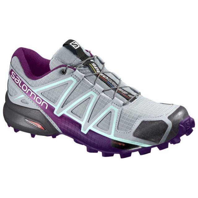 Salomon Speedcross 4w Chaussures de Trail Femme Rouge