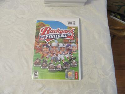 BACKYARD FOOTBALL 10 Wii SYSTEM W/MANUAL   eBay