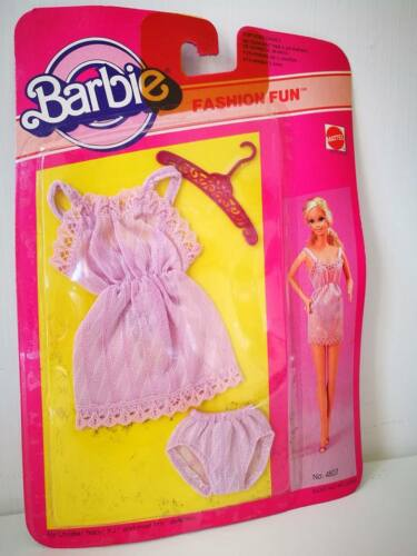 BARBIE FASHION FUN VESTITI CLOTHES MATTEL 1983 MADE IN PHILIPPINES