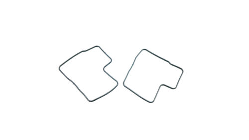 Two Replacement Honda Carb Carburetor Float Bowl O-ring Gaskets VT VF GL 18-2675