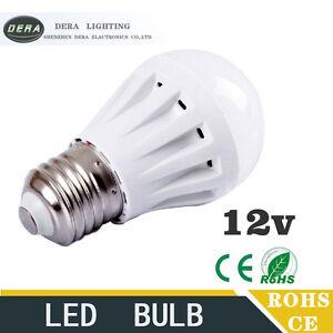 Details about Led Bulbs 3W5W7W9W12W led light bulb DC 12V E27 12volt to  Bedroom led lights
