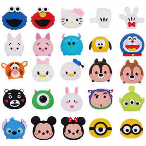 New Cartoon Phone Charger Protector Soft Cord Cute Animal