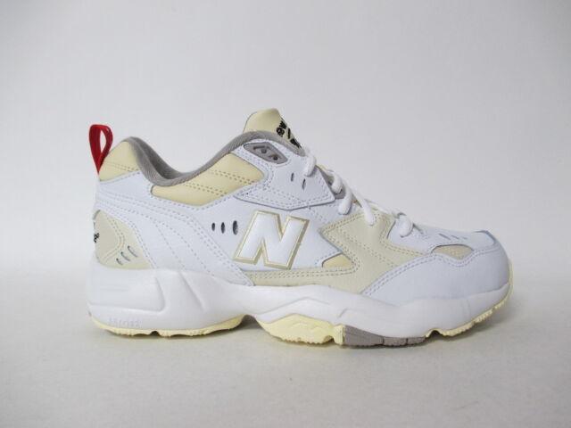 NEW Balance 608 White Cream Grey Red