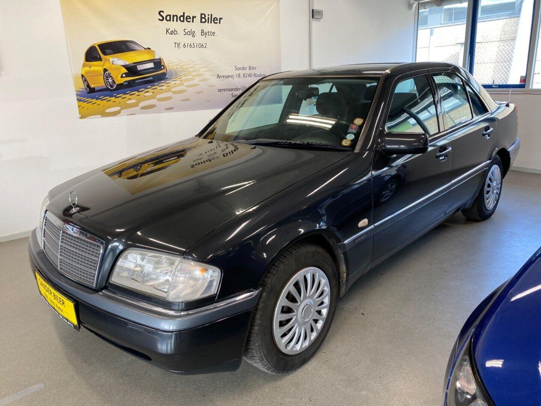 Mercedes C220 2,2 Elegance aut. 4d - 68.500 kr.