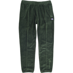 sells On Clearance elegant and sturdy package Details about Champion Velour Tapered Joggers New Men's Forest Green  Sportswear 212396-GS536