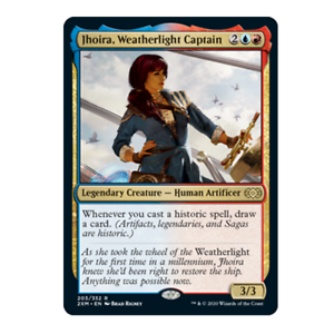 Jhoira Weatherlight Captain 203//332 Mythic Double Masters