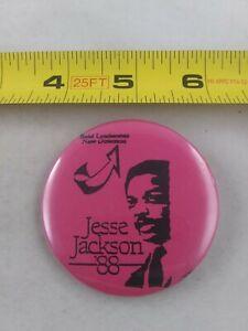 Vintage-JESSE-JACKSON-039-88-President-Political-Election-pin-button-pinback-A