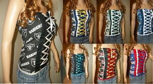 Corsets & Bustiers Diy Nfl Football Team Corsets Strapless Size Large