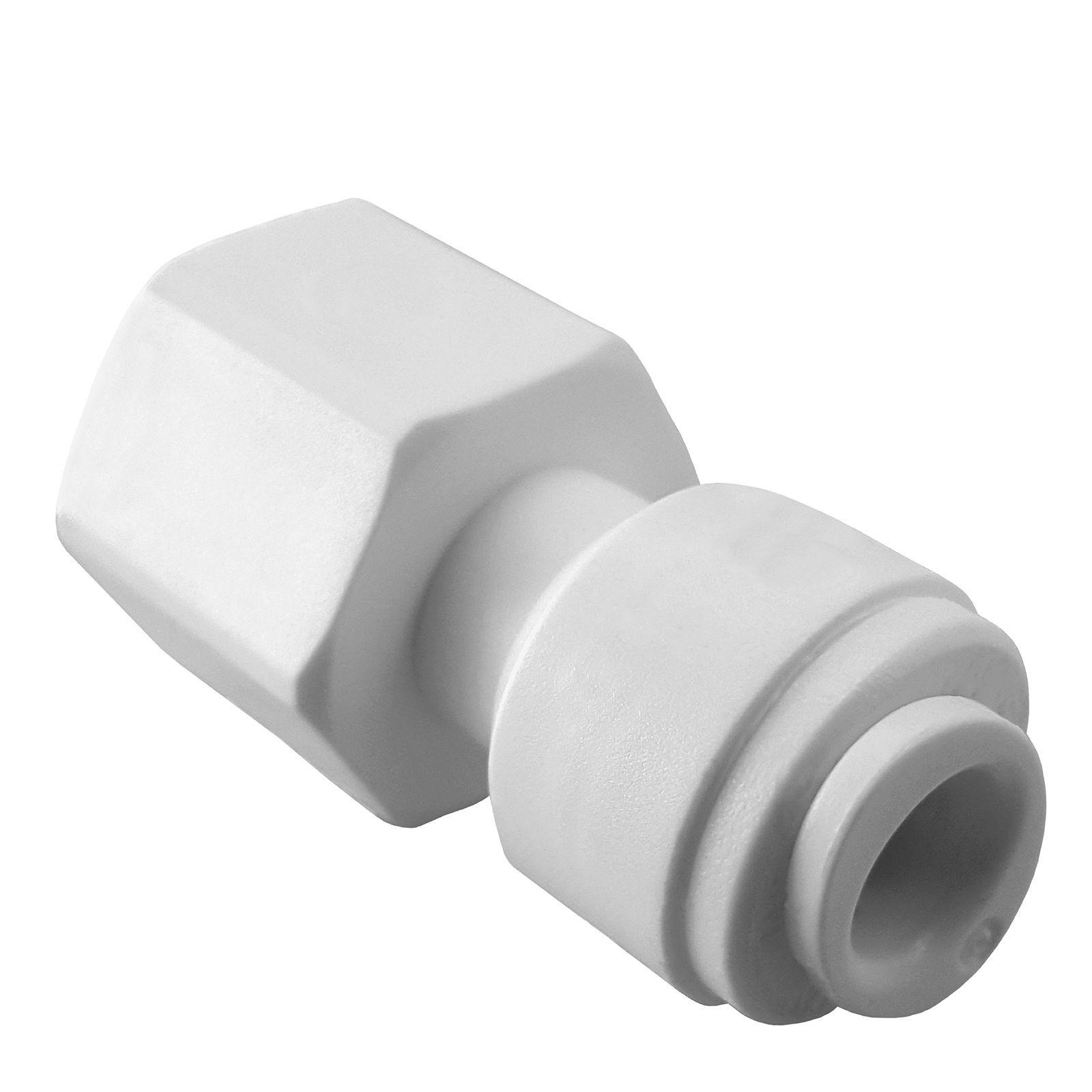 Robinet adaptateur 1 4  X 7 16  raccords pour filtres à eau RO Systems