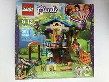 LEGO Friends Mia Tree House 351 Pcs Building Kit Daniel Pet Minifigures Roleplay