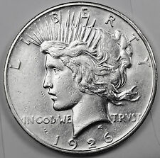 1926-d Peace Silver Dollar.  High Grade. (INV.A)
