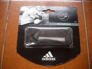 Intelligent Deadstock Adidas Rare Original Sport Chaussures De Football Baskets Noir Dentelle 2000 Vintage-afficher Le Titre D'origine Pour Aider à DigéRer Les Aliments Gras