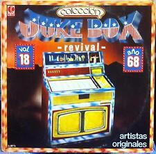 Various - Juke Revival Vol 18 Anos 1968 LP VG 18L0202 Vinyl K-Tel Spain Rare