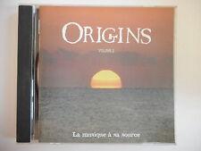 ORIGINS : LA MUSIQUE A SA SOURCE (VOLUME 2) || CD ALBUM | PORT 0€