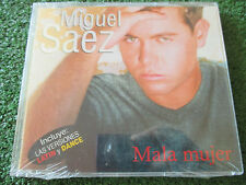 """MIGUEL SAEZ """"Mala Mujer"""" 2001 Spain 3-TRACK CD Single SEALED!"""