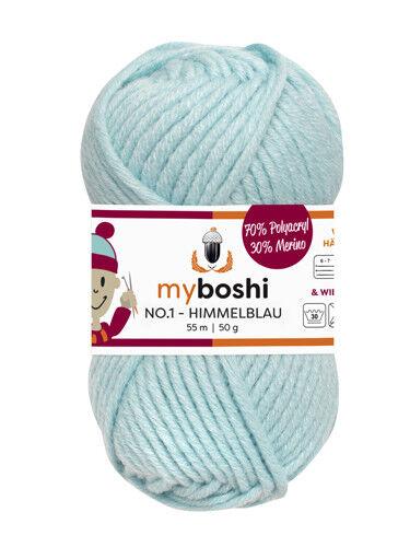 Myboshi No 1 Wolle Häkeln Garn Stricken ♥ my boshi gratis Anleitung 50g//Stück