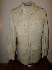 U S Military Air Force Men S Vintage Tropical Tan Bush