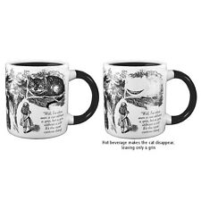 Official The Disappearing Alice in Wonderland Cheshire Cat Heat Mug - Boxed New