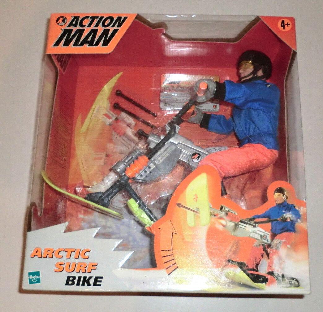 Hasbro Action Man 2000 Artic Surf Bike NIP