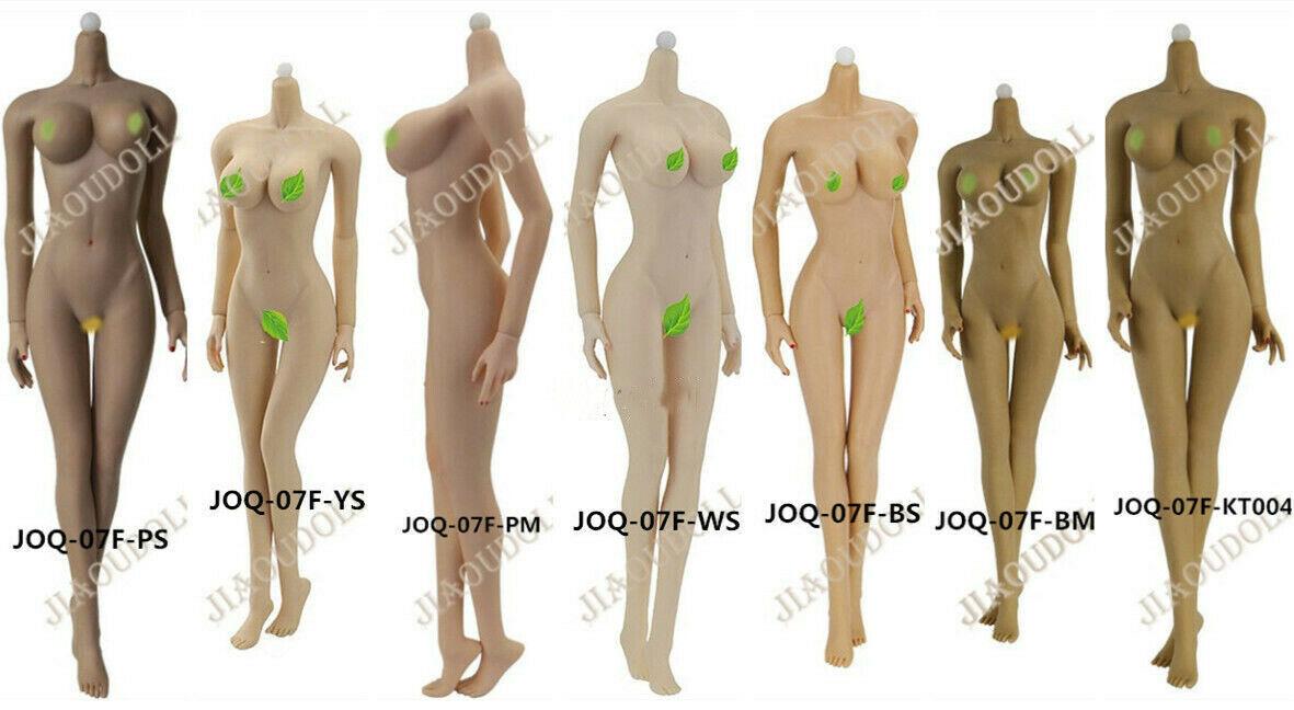 1 6 jiaou doll Female  Big buste Souple Corps Modèle Jouet 12  Action Figure JOQ-07F  authentique en ligne