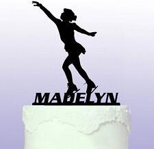 Personalised Female Ice Skater Cake Topper