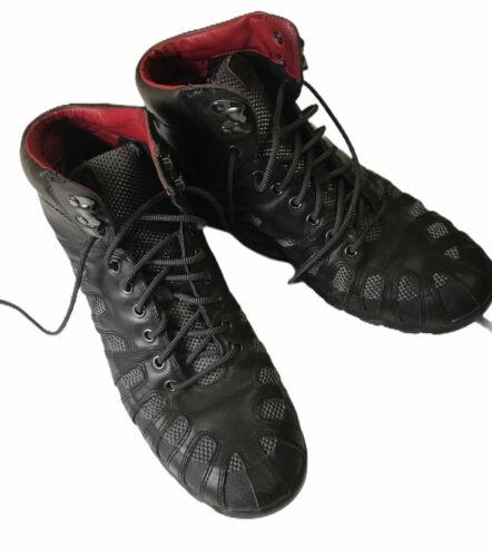 Auri Boots Fallen Angel Italian Leather Upper Size