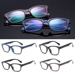 Nerd-Glasses-Clear-Lens-Unisex-Classic-Fashion-Unisex-Retro-Vintage-Style-80-034