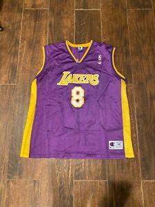 Details about Vintage Kobe Bryant Los Angeles Lakers Jersey #8 Purple Champion Men's XL 48