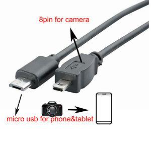 MAC PANASONIC LUMIX DMC-FZ5 USB DATA SYNC//TRANSFER CABLE LEAD FOR PC