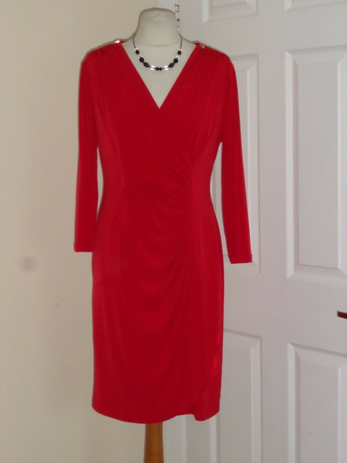 RRP  NEW Episode Red Party Dress Size M Sexy Special Occasion Wedding Evening