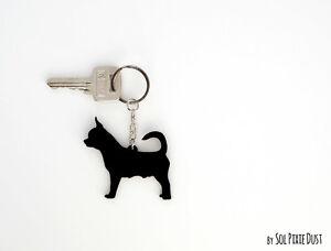 Chihuahua Keychain Silhouette Ebay