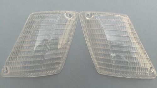 NEW BMW E3 2500 2800 3.3Li 3.0s CLEAR EURO TURN SIGNAL LENSES BLINKERS BAVARIA